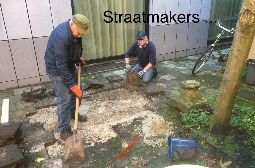 55plus: Achtertuin met straatmakers …